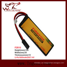 Firefox-1600mAh 7.4V 20C Li-Po batería de modelo Li-Polymer