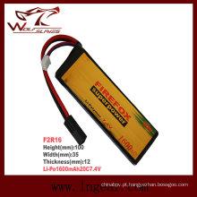 Firefox-7.4 v 1600mAh 20C Li-Po bateria modelo de Li-polímero