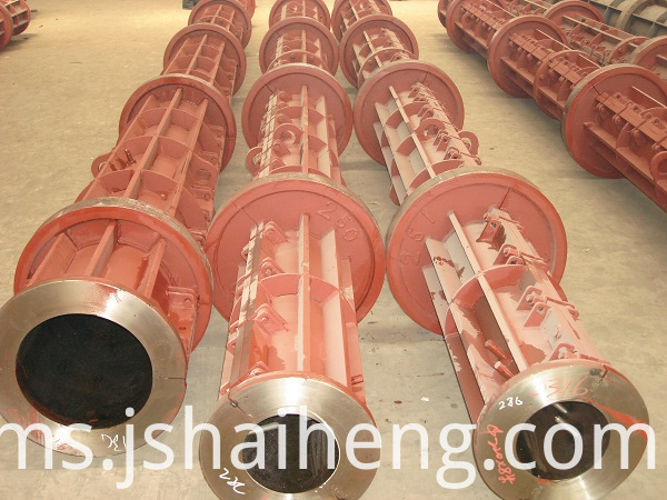concrete electric pole mould