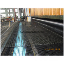 Fiberglass Geogrid for Railway Foundation