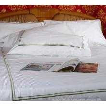 Massenverkaufs-Stickerei-Kissen-Kasten-weiße Baumwoll-Oxford-Art stickte Kissenbezüge