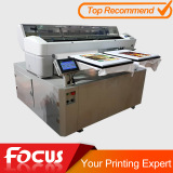 Printing on two tshirts at one time Focus Polar-jet DTG tshirt printer                                                                         Quality Choice