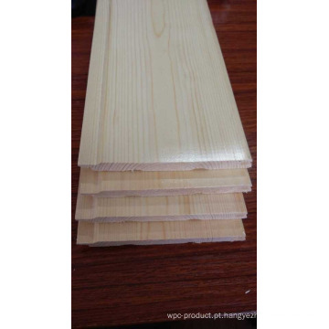 Revestimento de madeira da sauna do cedro vermelho de cor clara