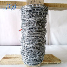 Barbed Wire Hot Dipped 2 Strand 4 Point