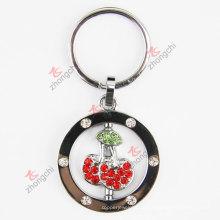 Сплав Кристалл сплава Cherry Key Chain (KR-56)