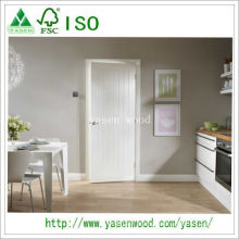 White Primer MDF High Quality Wooden Door