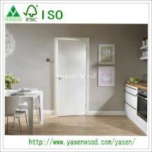 Белая грунтовка МДФ высокого качества деревянные двери