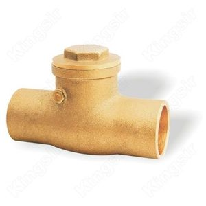 Brass Check Valves With Solder Ends