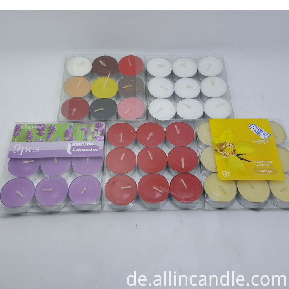 Paraffin Wax Candle