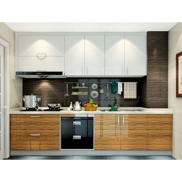 Glossy UV Kitchen Cupboard (for free shipping)