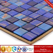 Baldosa de diseño de pared de baño de suministro de China Azulejo de mosaico de fusión en caliente