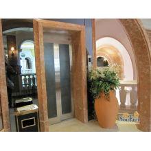 Conveniente ascensor de la casa de vidrio con la máquina sin cuarto