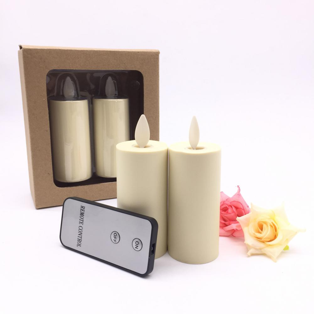 set of 2 luminara votive candle