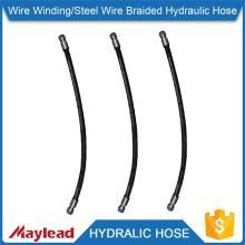 Sale 100R12 wire spiral hydralic high pressure 8 inch small diameter rubber hose                                                                                                         Supplier's Choice