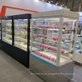 Escaparate de exhibición de pastel de supermercado de 1800 mm