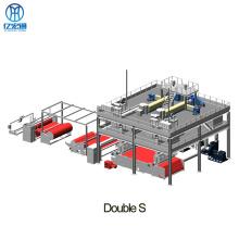 Línea de producción de telas no tejidas spunbond de 1600/3200 mm pp