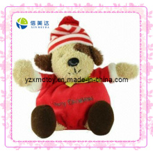 Lovely Dog Plush Christmas Toy (XDT-0182)