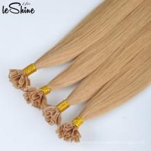 Extension de cheveux en kératine 100% Remy U Tip Human