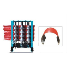 colored steel roofing sheet arched forming machine