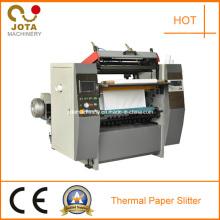 Cortadora de rollo de papel térmico pequeña rebobinadora cortadora de papel de registro en efectivo