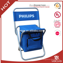 Outdoor Furniture General Use and Yes Folded Folding Chair with Cooler bag