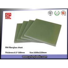 Material de aislamiento Fr4 Láminas de fibra de vidrio