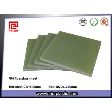 Fr4 Epoxy Faser Glasscheibe für Transformatorenzubehör