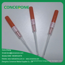 Sterile Disposable Intravenous IV Cannula/Catheter with Pen Shape Open Type