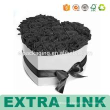 Caja de flores impresa aduana del papel de empaquetado de Alibaba