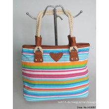 2015 neue Art- und Weisesegeltuch-Handtasche (H13057)