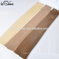 Top quality soft skin weft seamless hair extensions, shedding free glue hair tape hair