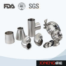 Stainless Steel Food Processing Welded Sanitary Pipe Fittings (JN-FT2008)
