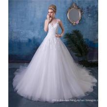 A Line Wedding Dress Bridal Gown #0014
