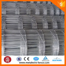 Hot dip galvanized woven fence for cattle