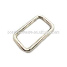 Moda de alta qualidade anel retangular de metal