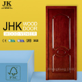 JHK Engineered Sapele Veneer 2 Panel MDF Exterior Door
