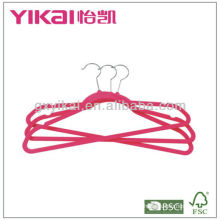 Promotional Flocking Clothes Hangers