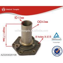 Couvercle de l'arbre d'entrée de pièces de boîte de vitesse HOWO de haute qualité AZ2203020108