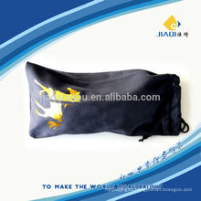microfiber pouch with double rope