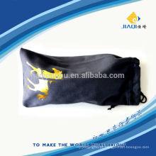 Bolsa de microfibra com corda dupla