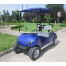 2 Plätze Elektro Golf Cart Club Auto für Golfplätze