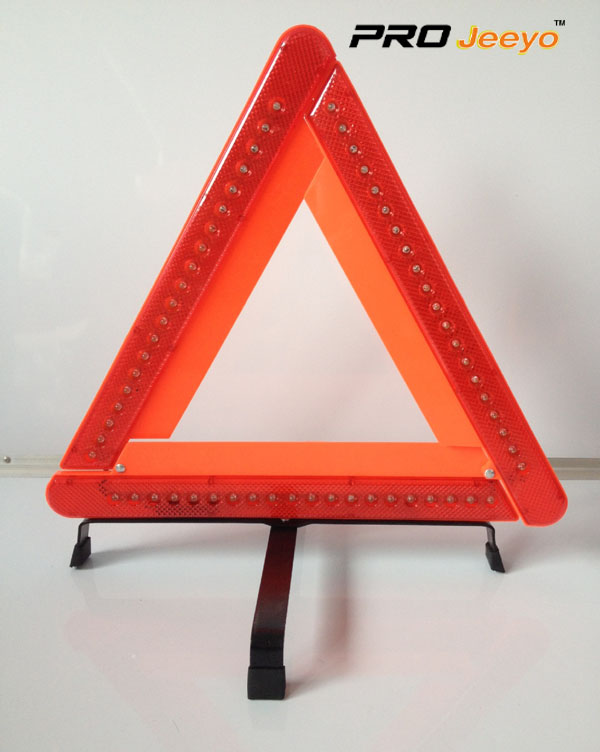 LED Flashing Light Warning Triangle DL-210 12