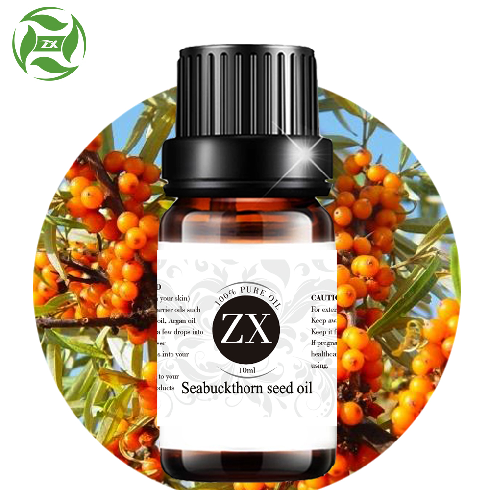 Customize Label Package 100% Pure Wild Seabuckthorn Seed Oil Natural Unrefined OEM China Manufacturer Supplier