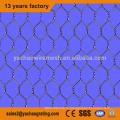высокомарочная гальванизированная шестиугольная коробка gabion ячеистой сети
