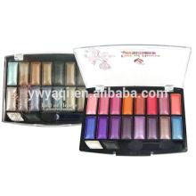 Dry eyeshadow type and eyeshadow containers makeup eyeshadow