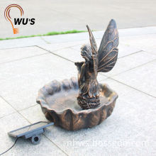 Reasonable & acceptable price factory supply solar water well fountain