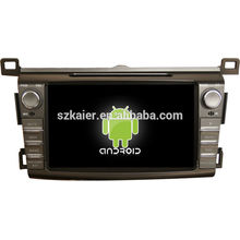 "8 ""android tablet doppel din auto dvd player für 2014 toyota RAV4 + dual core + OEM + fabrik"