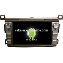 "8"" android tablet double din car dvd player for 2014 toyota RAV4 +dual core +OEM+factory"