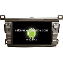 """8"""" планшетный Android двойной DIN DVD-плеер автомобиля для Тойота RAV4 2014 +двухъядерный +ОЕМ+завод"""