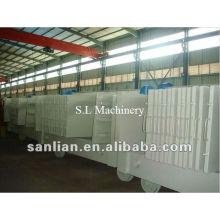 Linha de produção automática de painéis de parede em sanduíche EPS